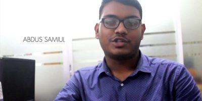 UX Design Learning Experience of Samiul