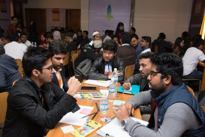 Design thinking participants at the UX Boot Camp 2019